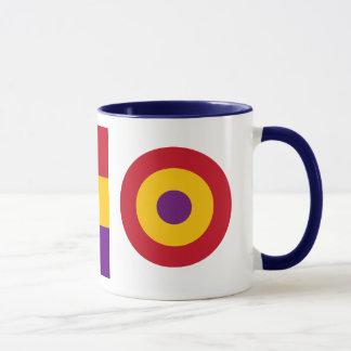 Spanische republikanische Luftwaffen-Tasse Tasse