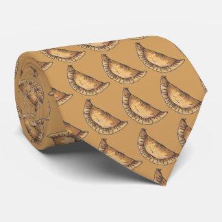 Spanisches Nahrungsmittelrindfleisch-Empanadas Personalisierte Krawatte