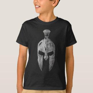 Spartanischer Helm T-Shirt