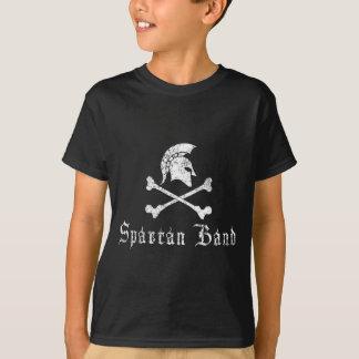 Spartanisches und Querknochen-Logo T-Shirt