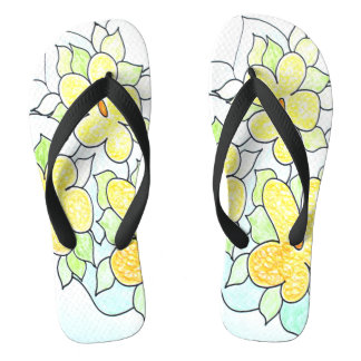 Spaß-frisches Blumen Badesandalen
