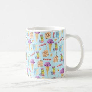 Spaß-Geburtstags-Leckerei-Muster Kaffeetasse