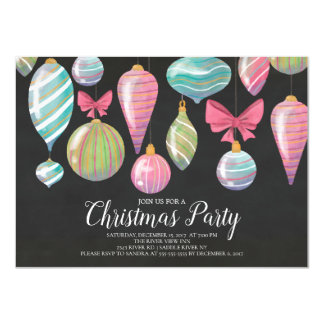 Spaß-hängende Verzierungs-WeihnachtsParty Karte