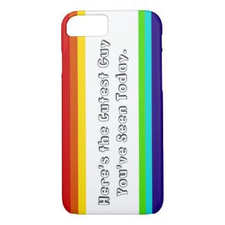 Spaß-Regenbogen iPhone 7case iPhone 8/7 Hülle