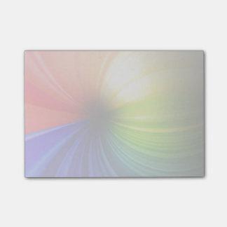 Spaß-Regenbogen-Kunst Post-it Klebezettel