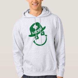 Spaß-Smiley-Entwurfs-St Patrick TagesHoodie Hoodie