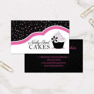 Spaß-Zuhause-Bäckerei-Geschäfts-Karten Visitenkarte