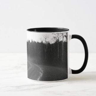 Spearfish-Schlucht-Hagel-Nebel-Kaffee-Tasse Tasse