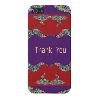 Special danken Ihnen - orientalische Lippen iPhone 5 Schutzhülle