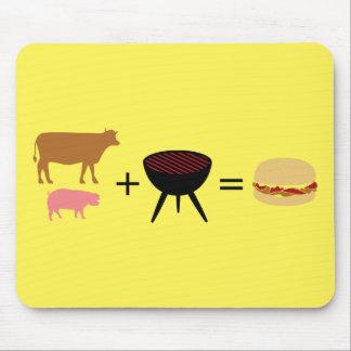 Speck-Burger-Rezept Mousepad