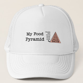 Speck-Ernährungspyramide Truckerkappe