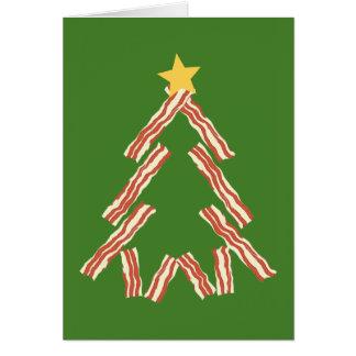 Speck-Weihnachtsbaum Grußkarte