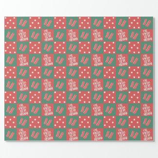 Speck-Weihnachtsgeschenk-Verpackung Geschenkpapier