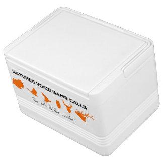 Spiel-Anruf-Iglu 12 der Natur Sprachkann cooler Igloo Kühlbox