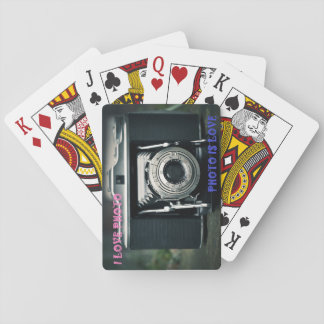 Spiel I LOVE FOTO FOTO IS LOVE Spielkarten
