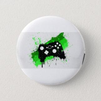 Spiel ist reicher Knopf Runder Button 5,1 Cm