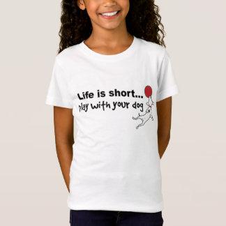 Spiel mit Ihrem Hund T-Shirt