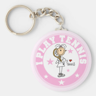 Spiel-Tennist-shirts und -geschenke des Mädchen-I Schlüsselanhänger