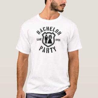 Spiel über Junggeselle-Party T-Shirt