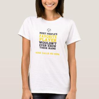 Spieler-Licht-Shirt-Front das BB/SB der Mammas nur