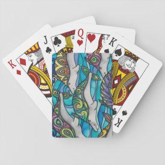 Spielkarten: Delphin-Reihe Spielkarten
