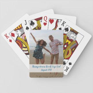 Spielkarten des kundenspezifischen Fotos - feiern