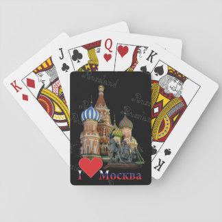 Spielkarten Moskau Russland Russia