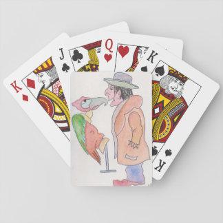 Spielkarten, Standardindex stellt w/characters Spielkarten