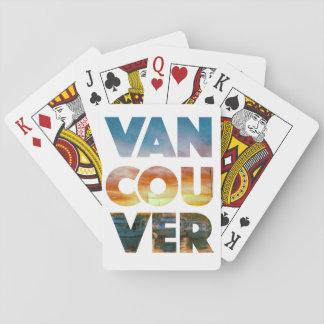 Spielkarten Vancouvers - kundenspezifische