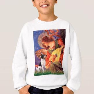 Spielzeug-Foxterrier - Mandolinen-Engel Sweatshirt