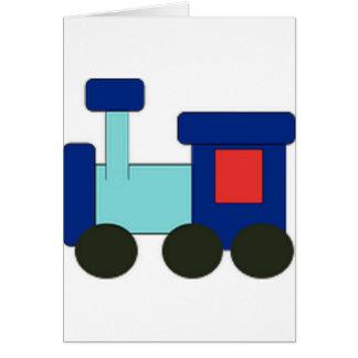 Spielzeug-Zug Karte