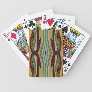 Spinart! Tiffany spaltete sich auf Pokerkarten