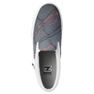 Spinnen-Netz Slip-On Sneaker
