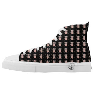 Spinnen-Petze Hoch-geschnittene Sneaker