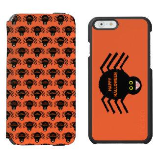 Spinnen-Telefon-Geldbörsen-Kasten Halloweens Incipio Watson™ iPhone 6 Geldbörsen Hülle