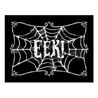 Spinnennetz EEK Postkarte