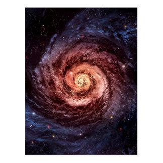 Spiralarm Postkarte