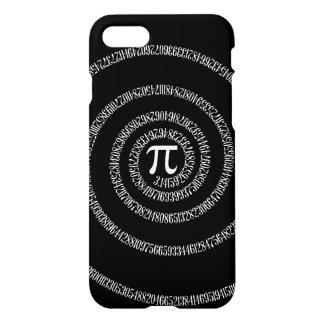 Spirale für PU auf festem Schwarzem iPhone 8/7 Hülle