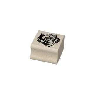 Spitze Blumenblatt-Rose Gummistempel