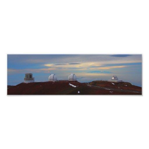 Spitze von Mauna Kea Photographischer Druck