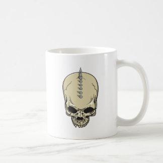 Spitzen-Schädel Tasse