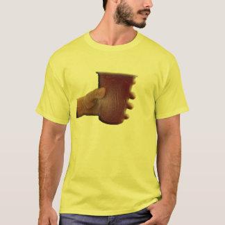 Spitzen Sie Ihre Schale oben für die einsamen T-Shirt