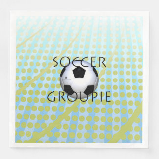 SPITZENfußball-Groupie Papierservietten