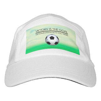 SPITZENfußball-Sieg-Slogan Headsweats Kappe