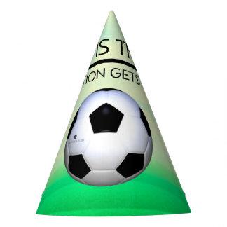 SPITZENfußball-Sieg-Slogan Partyhütchen