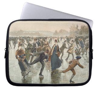 SPITZENSkaten-alte Schule Laptop Sleeve Schutzhülle