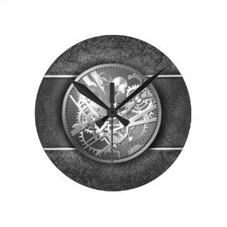 Splitter steampunk Uhrgänge Wanduhr