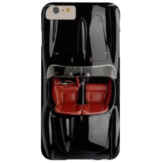 Sport-Auto-Schwarzes iPhone 6/6S plus kaum dort Barely There iPhone 6 Plus Hülle