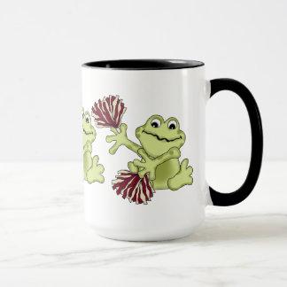 Sport, der Froschkaffee-Tasse Cheerleading ist Tasse