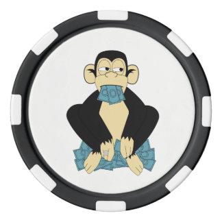 Sprechen Sie keine Übel-Poker-Chips Poker Chip Set